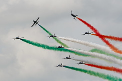 #3067 Italian Air Force (Frecce Tricolori) - Aermacchi MB-339A formation