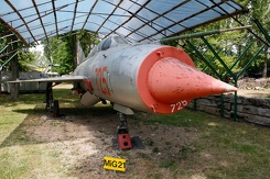 #3119 East German Air Force - MiG-21SPS Fishbed (725)