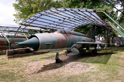 #3121 East German Air Force - MiG-21MF Fishbed (673)