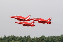 #3329 Royal Air Force (Red Arrows) - British Aerospace Hawk T1A