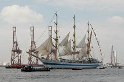 #3444 Russian Tall Ship STS Mir - Sail Amsterdam 2015 (Holland)