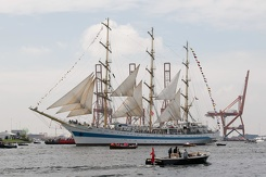 #3445 Russian Tall Ship STS Mir - Sail Amsterdam 2015 (Holland)