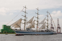 #3446 Russian Tall Ship STS Mir - Sail Amsterdam 2015 (Holland)