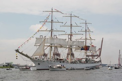 #3448 Polish Tall Ship Dar Młodzieży - Sail Amsterdam 2015 (Holland)
