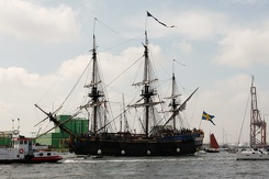 #3455 Swedish Tall Ship Götheborg - Sail Amsterdam 2015 (Holland)