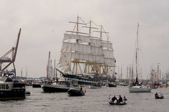 #3462 Russian Tall Ship STS Kruzenshtern - Sail Amsterdam 2015 (Holland)