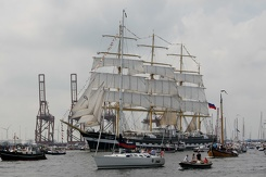 #3463 Russian Tall Ship STS Kruzenshtern - Sail Amsterdam 2015 (Holland)