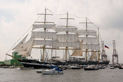 #3464 Russian Tall Ship STS Kruzenshtern - Sail Amsterdam 2015 (Holland)