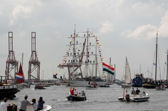 #3484 Indian Tall Ship INS Tarangini - Sail Amsterdam 2015 (Holland)