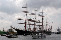 #3488 Russian Tall Ship STS Sedov - Sail Amsterdam 2015 (Holland)