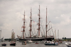 #3489 Russian Tall Ship STS Sedov - Sail Amsterdam 2015 (Holland)