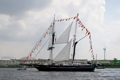 #3497 Australian Tall Ship STS Young Endeavour - Sail Amsterdam 2015 (Holland)