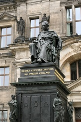 #3733 Statue Frederick Augustus I - Dresden (Germany)