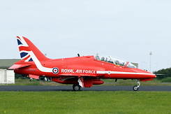 #3893 Royal Air Force (Red Arrows) - British Aerospace Hawk T1 (XX232)