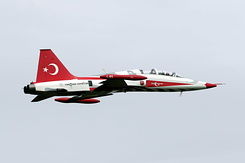 #3894 Turkish Air Force (Turkish Stars) - Canadair NF-5B (4001 / 4)