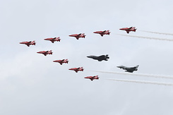 #4220 Royal Air Force (Red Arrows) - Hawk / F-35 / Eurofighter