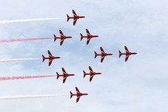 #4229 Royal Air Force (Red Arrows) - British Aerospace Hawk T1A