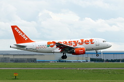 #4259 EasyJet Airline - Airbus A319-111 (G-EZEZ)