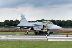 #4571 Swedish Air Force - Saab JAS-39C Gripen (39273 / 273)