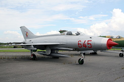 #4610 East German Air Force - Mikoyan-Gurevich MiG-21F Fishbed-C (645 Red)