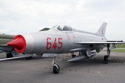 #4612 East German Air Force - Mikoyan-Gurevich MiG-21F Fishbed-C (645 Red)