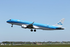 #4734 KLM Cityhopper - Embraer 190STD (PH-EZP)