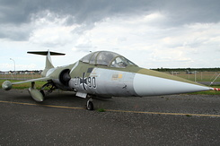 #4852 German Air Force - Lockheed TF-104G Starfighter (27+90)