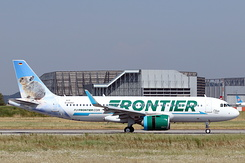 #4923 Frontier Airlines - Airbus A320-251N (D-AXAV / N331FR / MSN 8239)