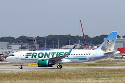 #4924 Frontier Airlines - Airbus A320-251N (D-AXAV / N331FR / MSN 8239)