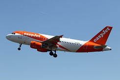 #5088 EasyJet Airline - Airbus A319-111 (G-EZGA)