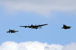 #5299 Royal Air Force - Formation of Tornado / Lancaster / F-35B