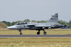 #5384 Swedish Air Force - Saab JAS-39C Gripen (39278 / 278)