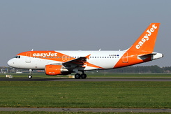 #5527 EasyJet Airline - Airbus A319-111 (G-EZGB)