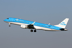 #5534 KLM Cityhopper - Embraer 190STD (PH-EXV)