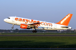 #5559 EasyJet Airline - Airbus A319-111 (G-EZAO)