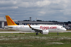 #5850 Pegasus Airlines - Airbus A320-251N (D-AVVD / TC-NCE / MSN 8875)