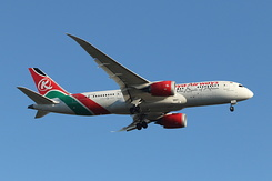 #6009 Kenya Airways - Boeing 787-8 (5Y-KZC)