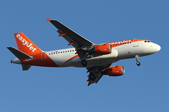 #6014 EasyJet Airline - Airbus A319-111 (G-EZBR)