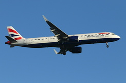 #6021 British Airways - Airbus A321-251NX (G-NEOT)
