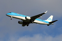 #6341 KLM Cityhopper - Embraer 190STD (PH-EXV)
