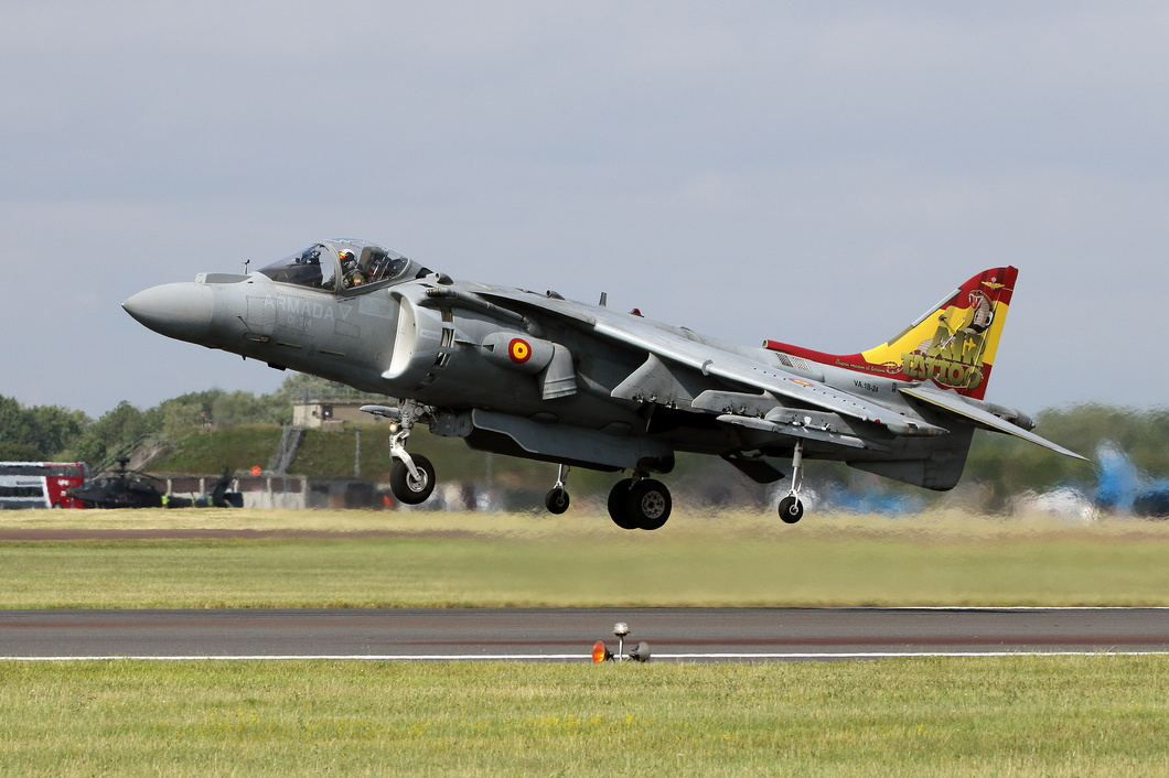 20190720-177 Spanish Navy - McDonnell Douglas EAV-8B Harrier II Plus (VA.1B-24 01-914) RAF Fairford UK.jpg