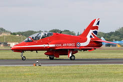 #6384 Royal Air Force (Red Arrows) - British Aerospace Hawk T1A (XX319)