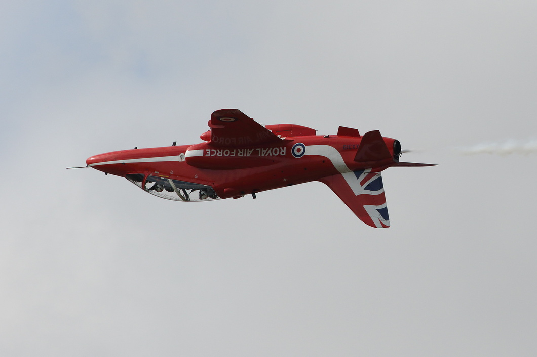 20190720-182 Royal Air Force (Red Arrows) - British Aerospace Hawk T1A (XX319) RAF Fairford UK.jpg