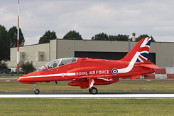 #6390 Royal Air Force (Red Arrows) - British Aerospace Hawk T1 (XX244)