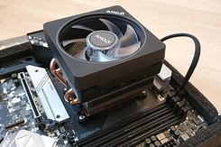 #6536 ASRock B550 Steel Legend with AMD Ryzen 7 and Wraith Prism LED Cooler