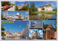 #6544 Postcard DE-9856781 received from Germany