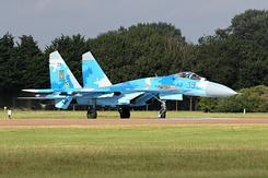 #6617 Ukrainian Air Force - Sukhoi Su-27P1M Flanker (39 Blue)
