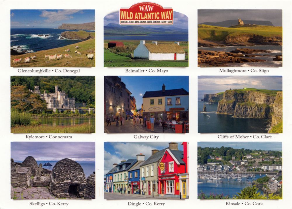 #5894 Postcard IE-188531 received from Ireland